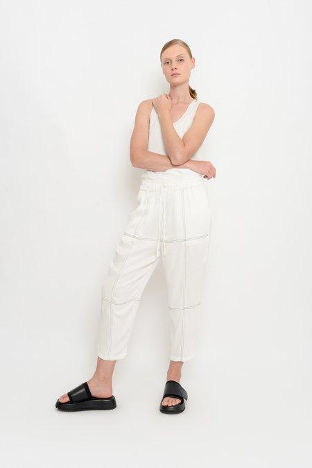 UMA Raquel Davidowicz Crepe Trousers with Topstitch