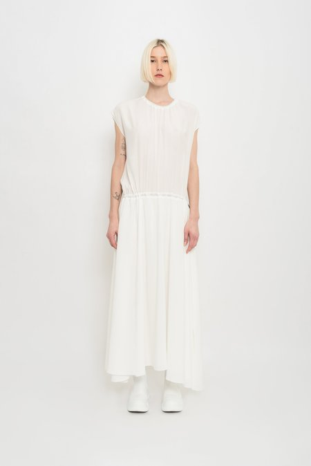 UMA Raquel Davidowicz Pelicano Versatile Adjustable Long Dress - Off White