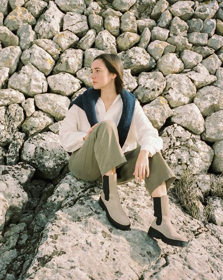 Naguisa Baria boots - Taupe