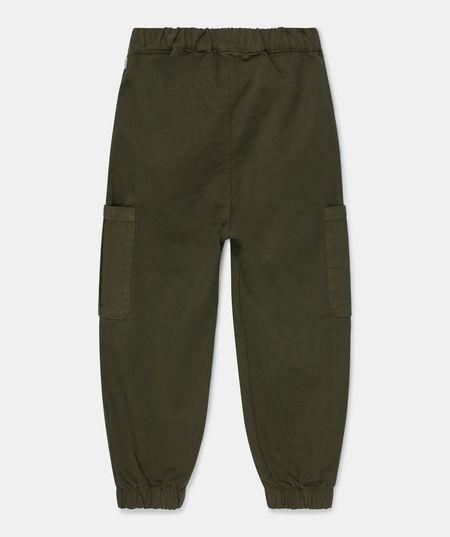 kids My Little Cozmo Erick Twill Cargo Pants - Khaki