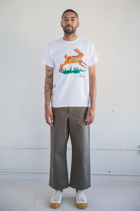 Bode Hand Drawn Horse Tee Shirt