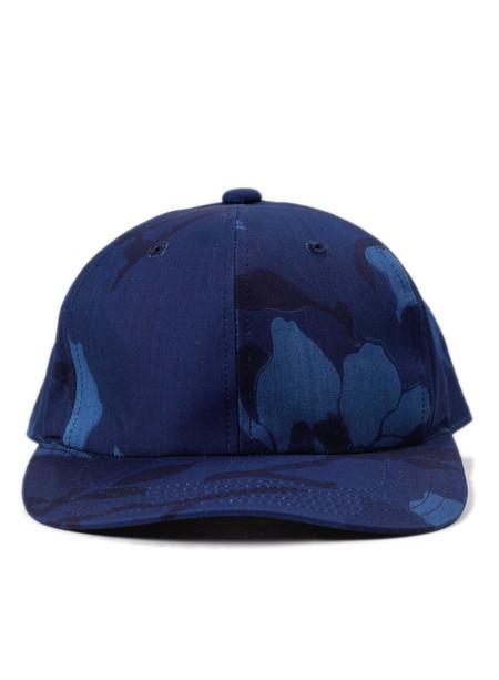 Blue Blue Japan Indigo Cotton Weather Magnolia Classic Baseball Cap