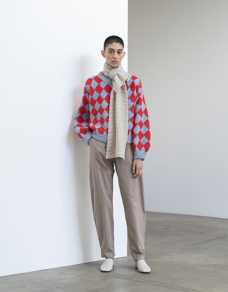 Atelier Delphine Tangier Pant - Warm Grey