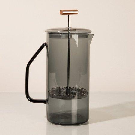 Yield  Glass French Press - Gray