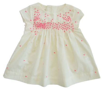 Everbloom Cream-Ivory Baby Dress