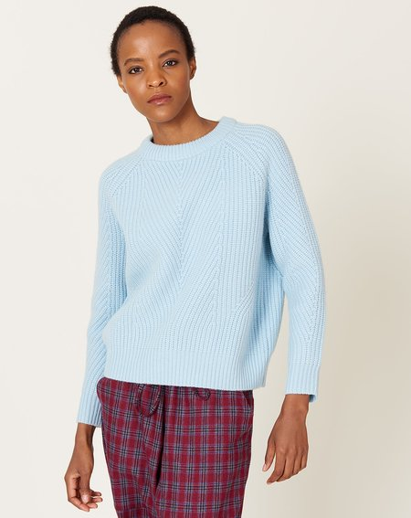Demy Lee Chelsea Wool Sweater - Icy Blue