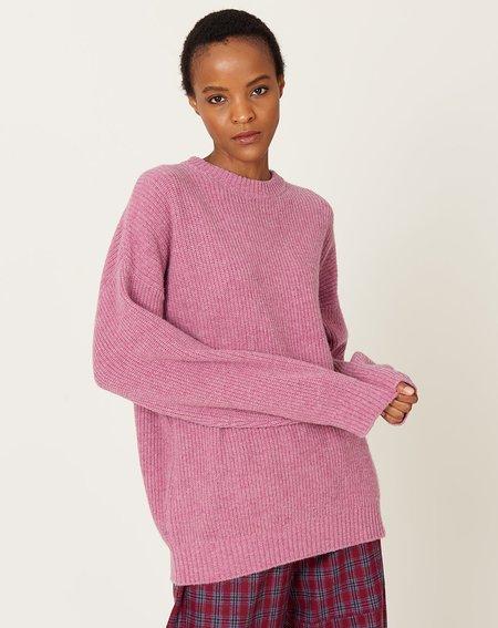 Demy Lee Donnie Sweater - Dark Heather Pink