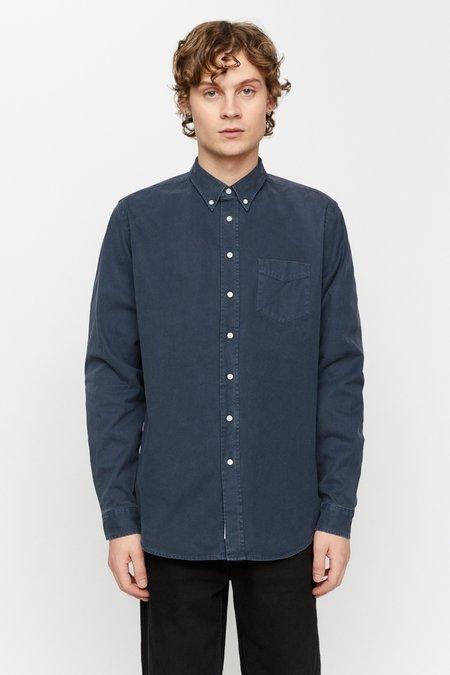Schnayderman's overdyed one Shirt - Dark blue