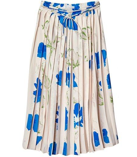 Rejina Pyo Irma Skirt - Flower Blue