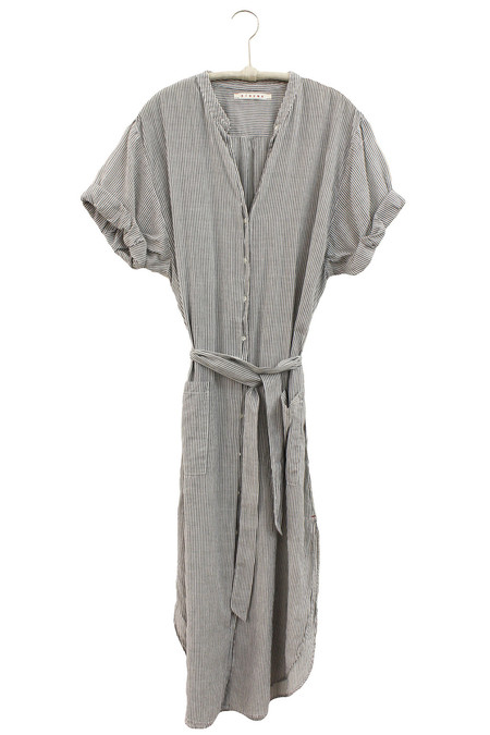 Xirena PINSTRIPE VOILE ALEXA SHIRT DRESS