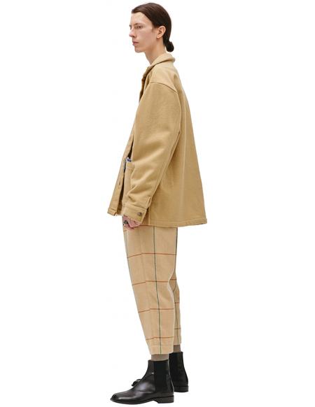 Greg Lauren Wool Faded Jacket - Beige