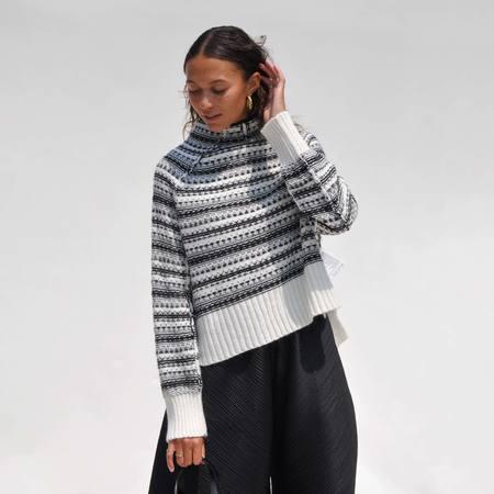 Maison Margiela Intarsia Boxy Sweater