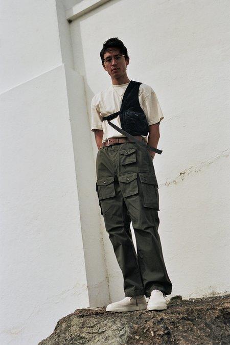 Engineered Garments Shoulder Vest - Black