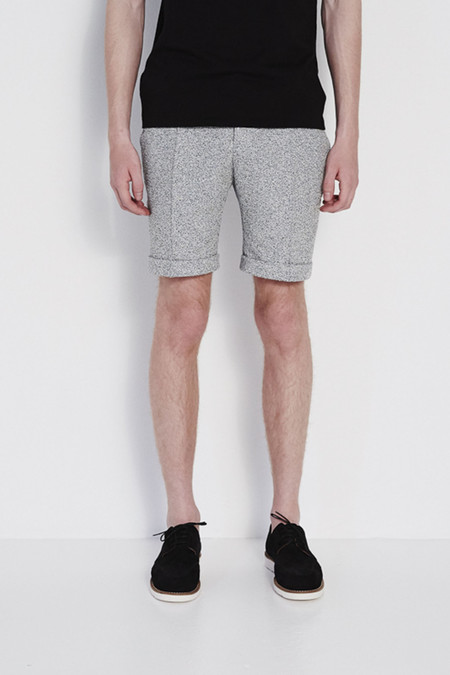 Soulland Kreuzberg Relaxed Suits Shorts in Grey