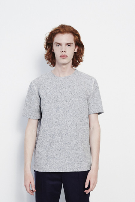 Soulland Vereda Short Sleeve Shirt in Grey