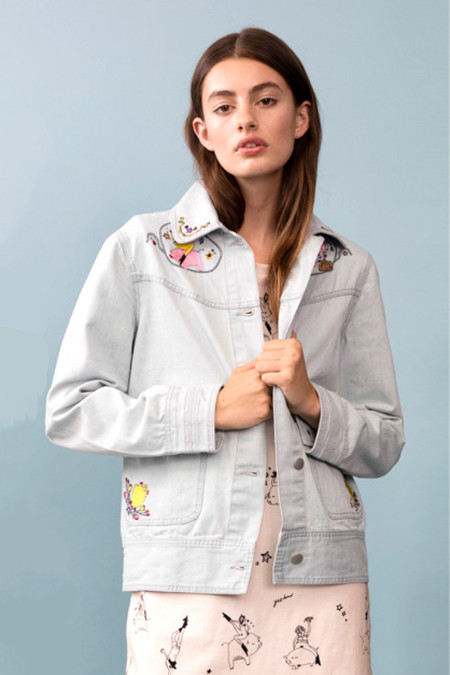 Rachel Antonoff Betty Double Cuff Jacket