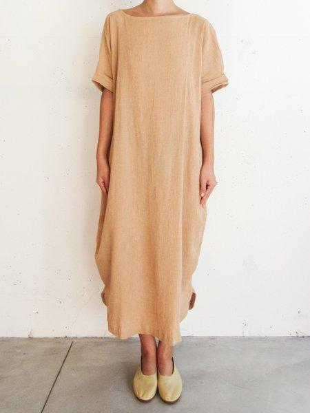 at Dawn. Olive Dress - Tan/Black