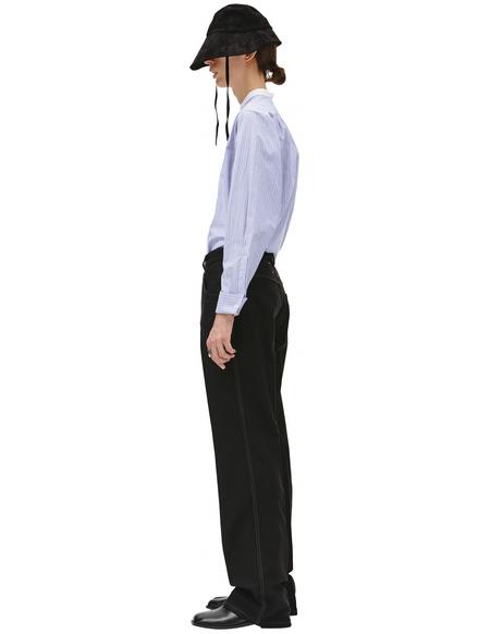 Maison Margiela straight cut pants - Black