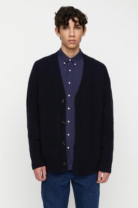 Schnayderman's wool cashmere Cardigan - dark navy