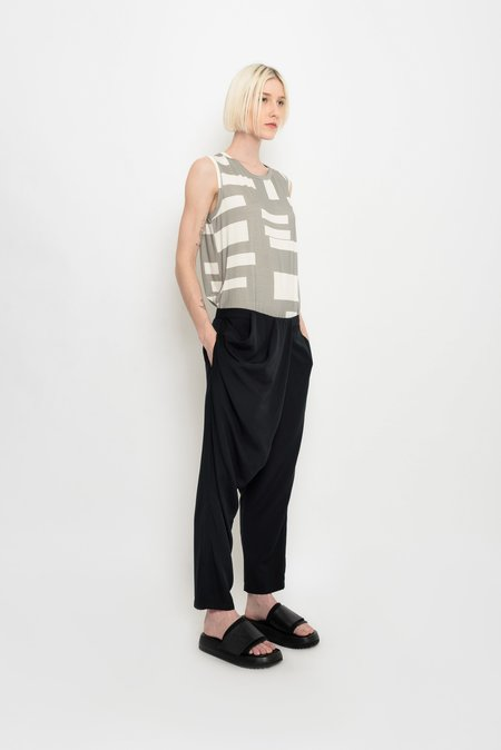 UMA Raquel Davidowicz Crossover Trousers - Light Draping Cavaquinho