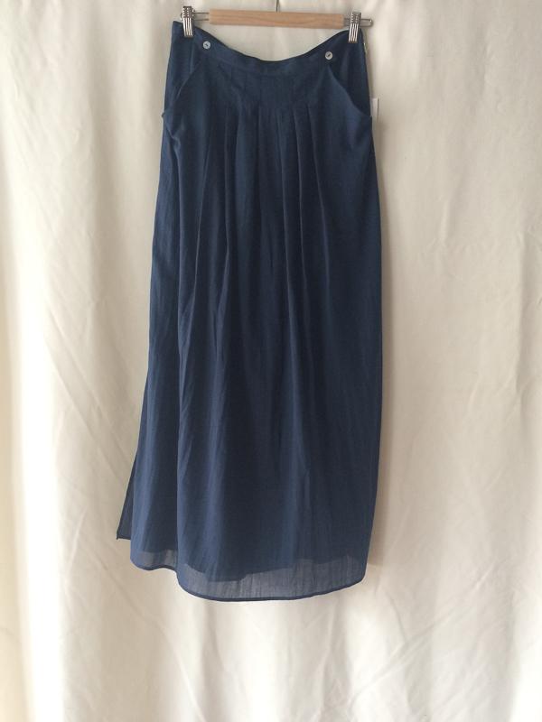 loup charmant long pleats skirt