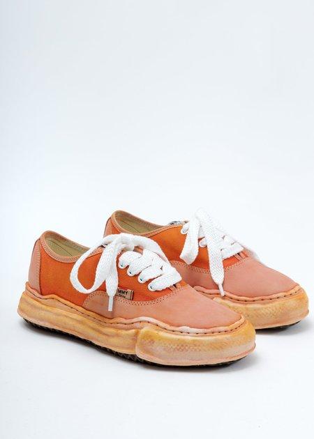 Mihara Yasuhiro Overdyed Original Sole Low Cut Sneaker - Orange