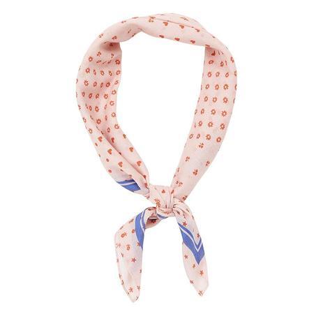 Kids Bonton Child Bandana Scarf - Vine Peach Pink