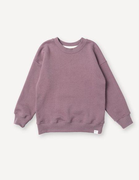 Kids Petits Vilains Emil Crew Sweatshirt - Mulberry