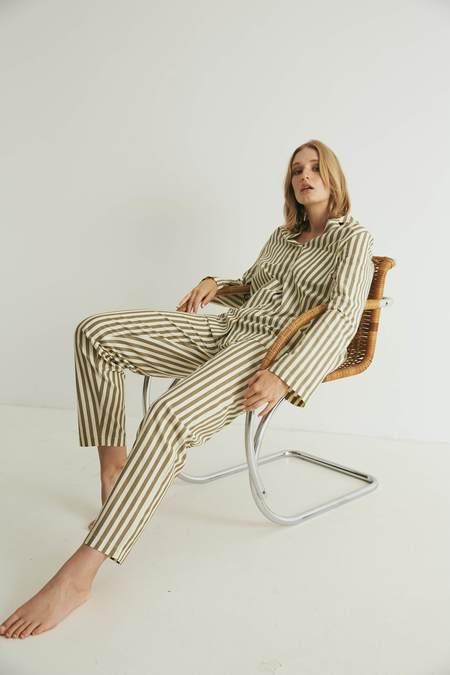 General Sleep Classic Set - Khaki Stripe