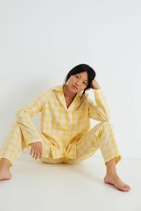 General Sleep Classic Set - Yuzu Gingham