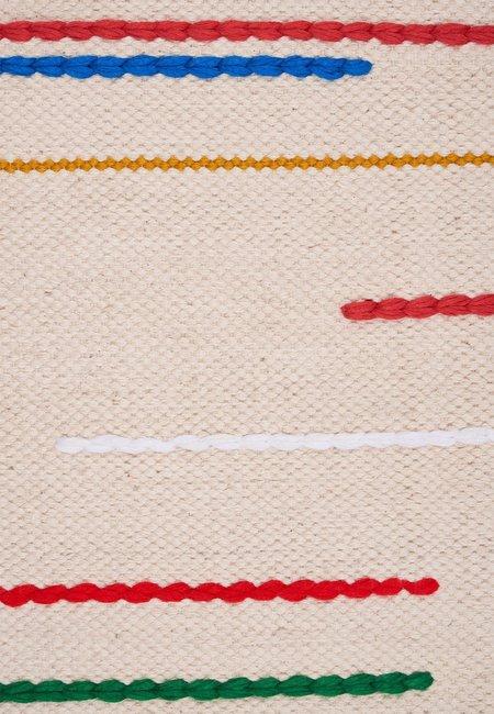 Folkdays x El Puente handmade carpet - natural