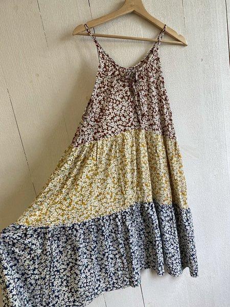 Conrado Adelaide Tiered Dress - Multi Floral