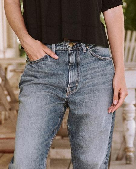 The Great The Slouch Taper Jean - Canopy Wash