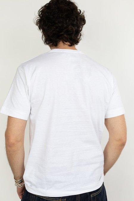 Comme des Garçons Black Heart Patch T-Shirt - White