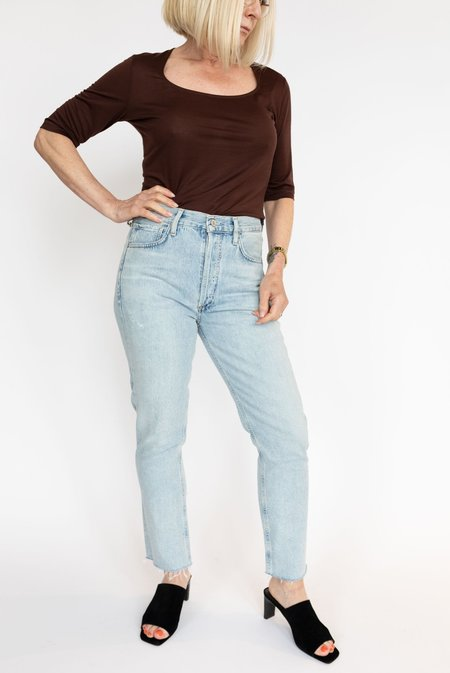 Citizens of Humanity Charlotte Crop Jeans - Ever After