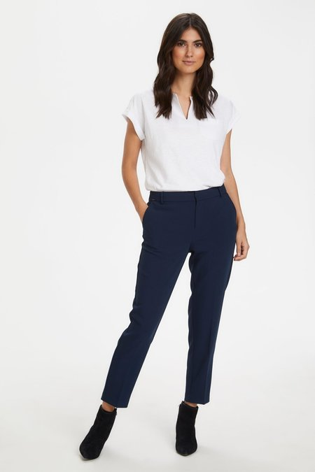 Part Two Clea Ankle Pants - Navy