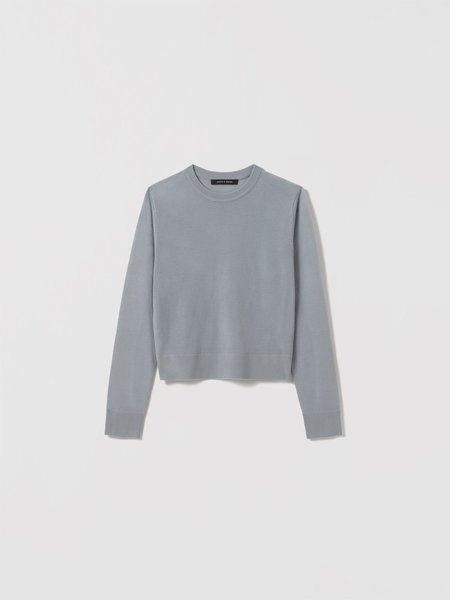 Judith & Charles Crosby Pullover - Pale Blue
