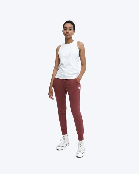 Reigning Champ Lightweight Terry Slim Sweatpant -  Russet