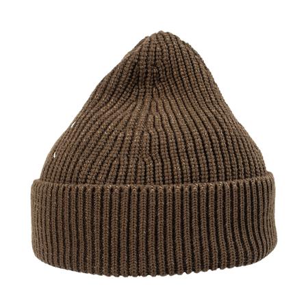 Unisex Maison Margiela Wool Beanie - Brown