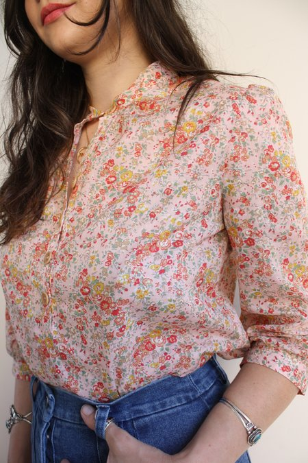 Myrtle Carly Blouse Top - Carnation
