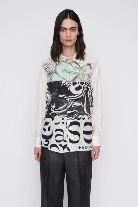Our Legacy Above Shirt - Ivy Clover Print