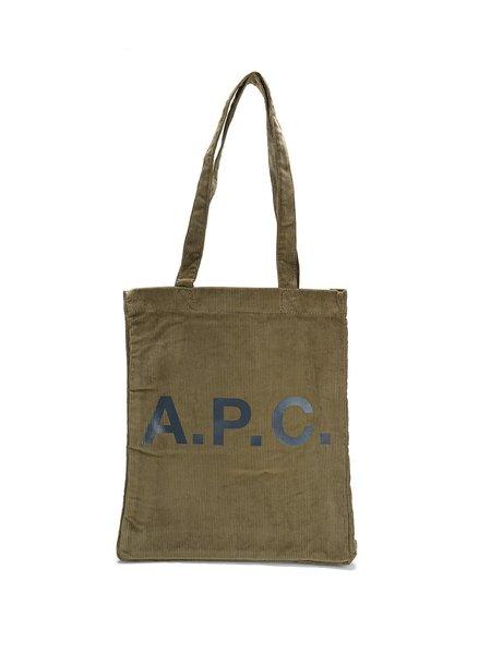 A.P.C. Tote Lou - Bae Taupe
