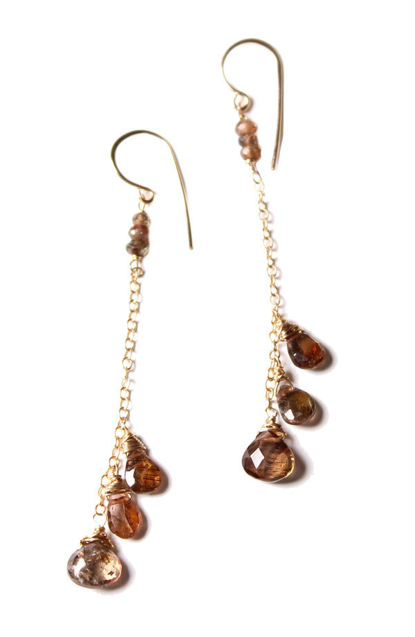 James and Jezebelle Andalucite Dangle Earring