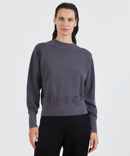 ATM French Terry Vintage Raglan Sweatshirt - Dusk