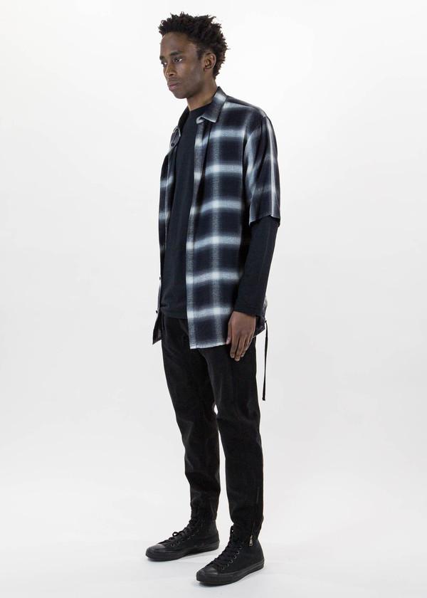 Helmut Lang Drawcord Short Sleeve Shirt