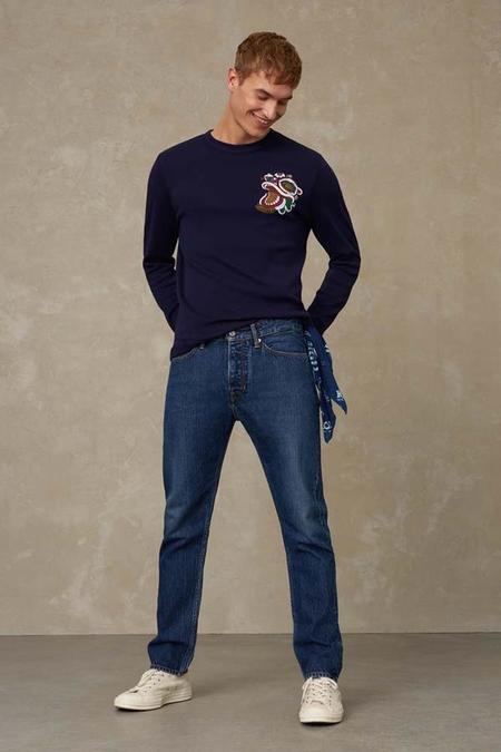 kings of indigo John jeans - blue worn refibra