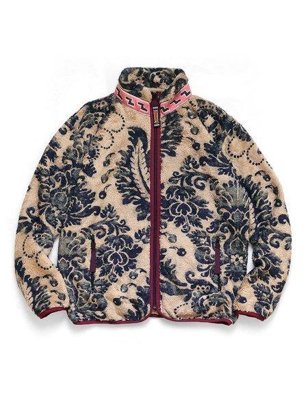 Kapital DAMASK Fleece ZIP Blouson jacket - Biege