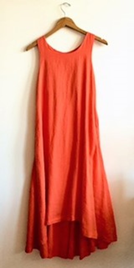 Black Crane - Tank Dress - Paprika