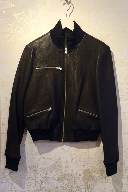 A.L.C. 'Jordyn' Leather Bomber Jacket