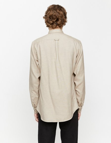 Schnayderman's BD Heavy Oxford Flannel Shirt - Beige